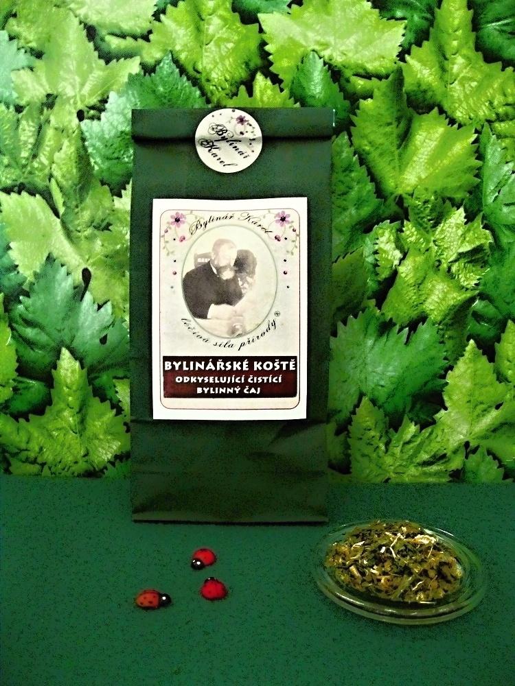 Bylinářské koště čistící čaj