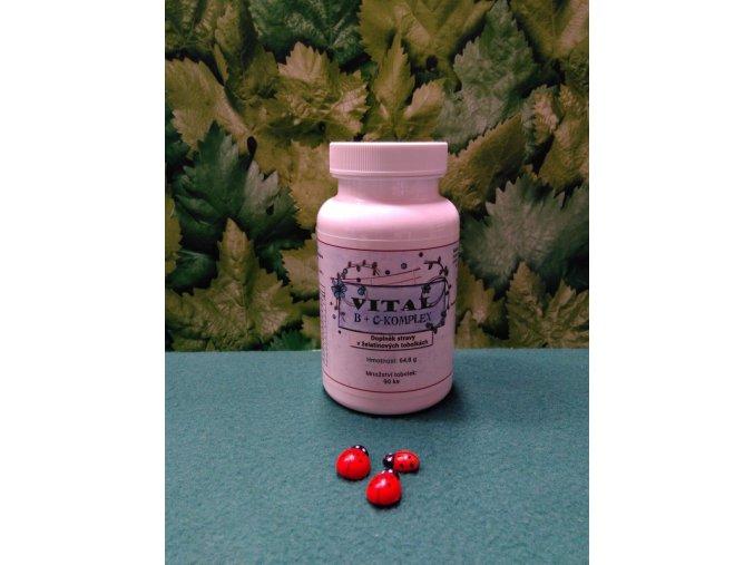 Vitamin B a C Energetický metabolismus, imunitní systém, snížení únavy a vyčerpání, vstřebávání železa