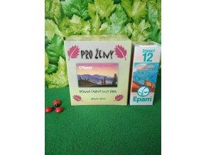 EPAM Pro ženy tinktura a čaj NS