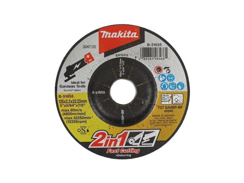 22610 1 makita rezny kotuc 2v1 125x2 0x22mm b 51655