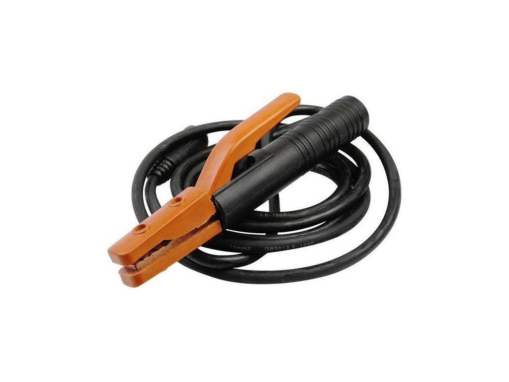 24248 1 extol premium zvaraci kabel s kliestami 4m max do 200a 8898024