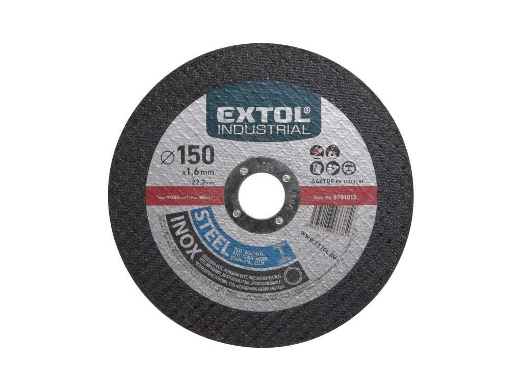 25298 1 extol industrial kotuc rezny na ocel antikoro 150x1 6mm 8701015