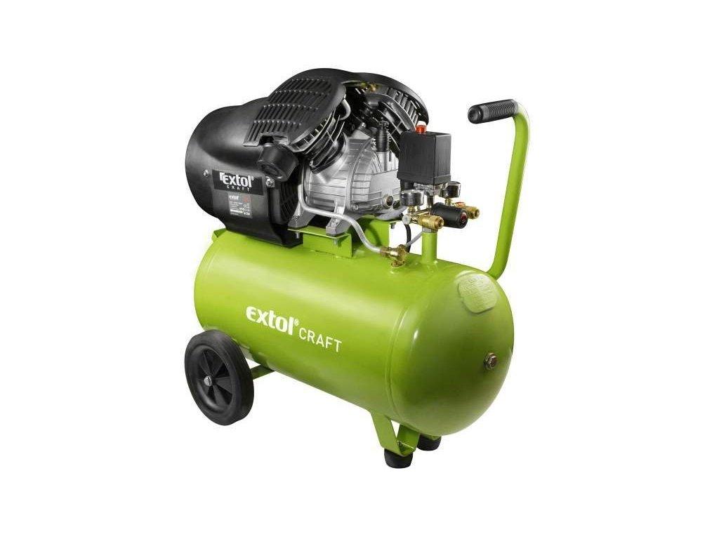 26300 2 extol craft kompresor olejovy dvojvalcovy prikon 2200w 50 l 418211