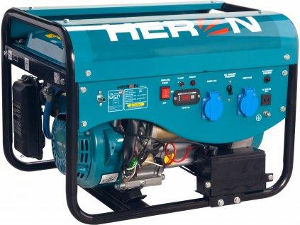Elektrocentrála benzínová a plynová 1F, 2,4kW, elektrický štart, HERON