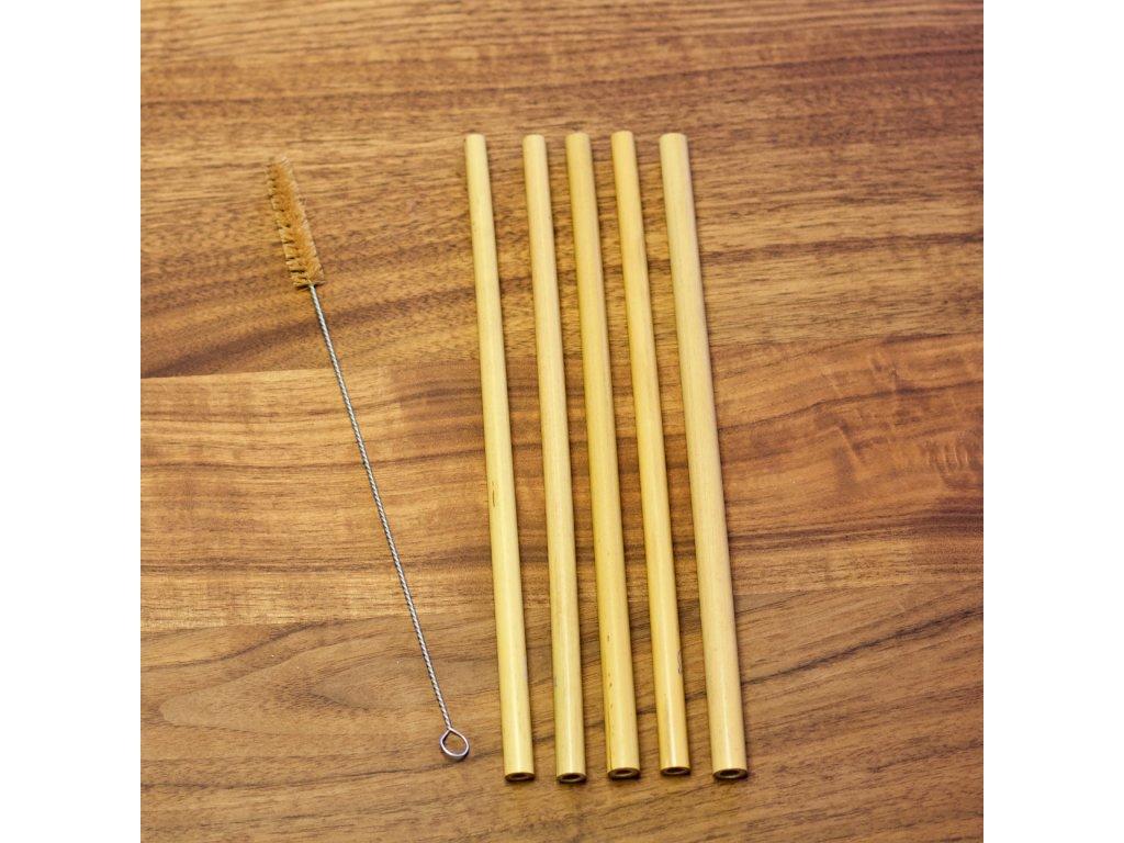 bambusova brcka 2 set vetsi