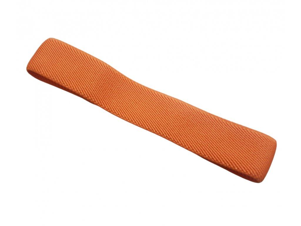 textilni paska oranzova