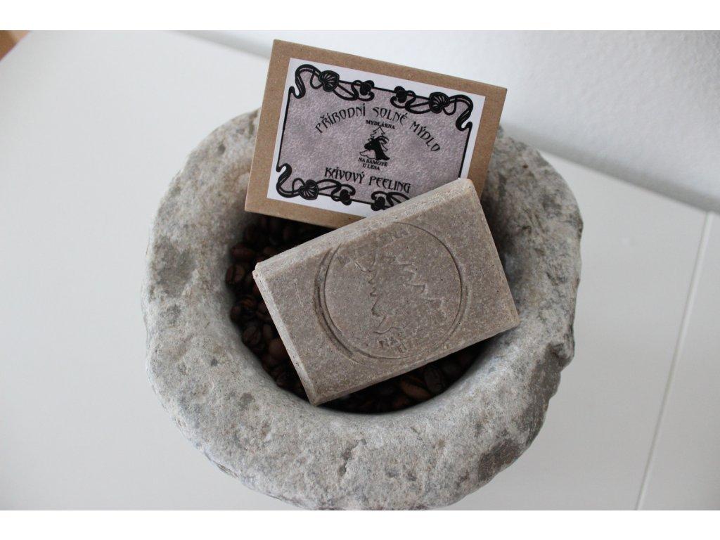 54 prirodni solne mydlo kavovy peeling