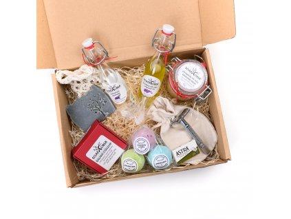 Kosmetický balíček Levandule