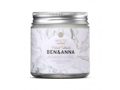white fluoride toothpaste ben and anna