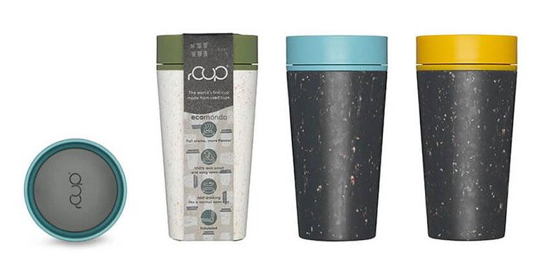 Kelímek rCUP: reusable, recyklovaný a recyklovatelný a společník pro každý den
