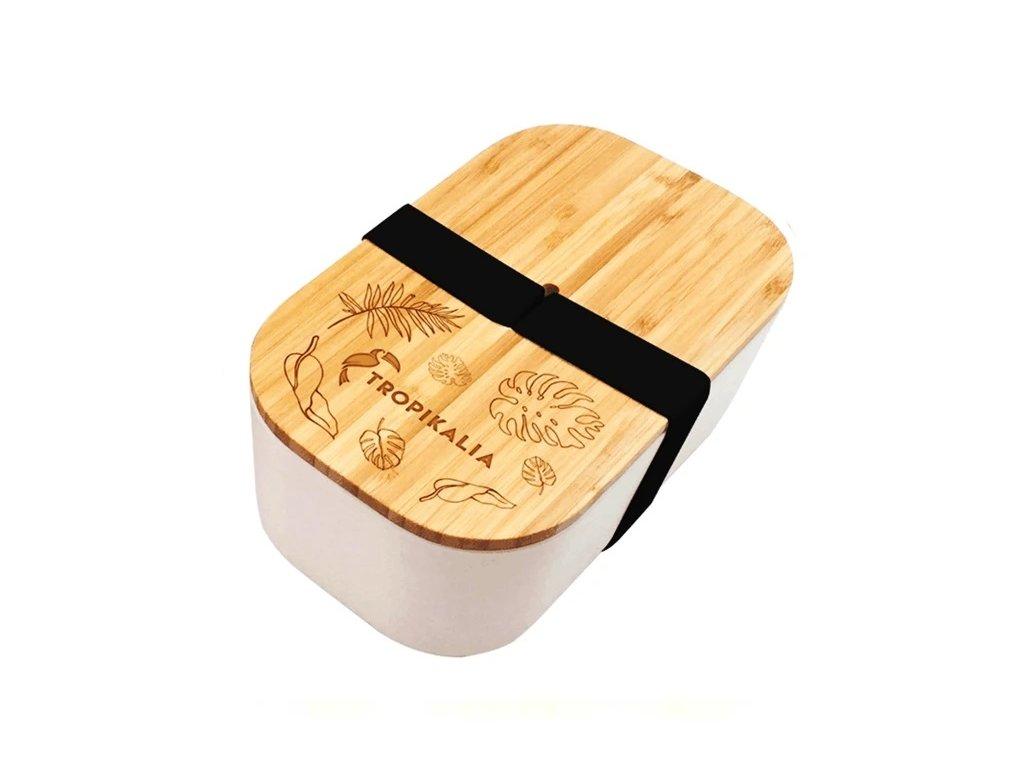 Tropikalia Lunch Box ECO | černá