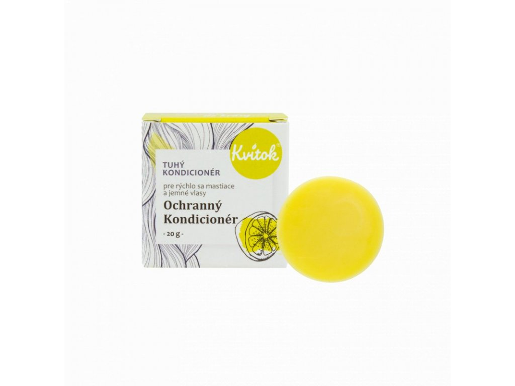 Kvitok Tuhý kondicionér pro mastné vlasy | Ochranný (20 g)