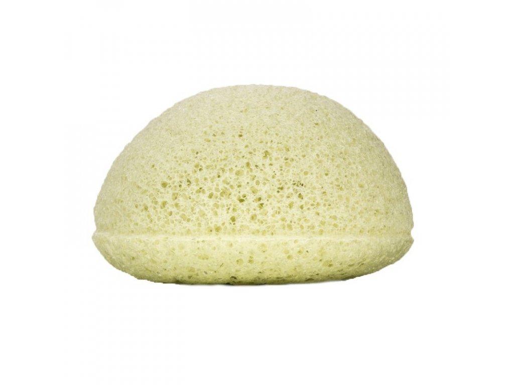 Kongy Konjaková houbička | zelený jíl