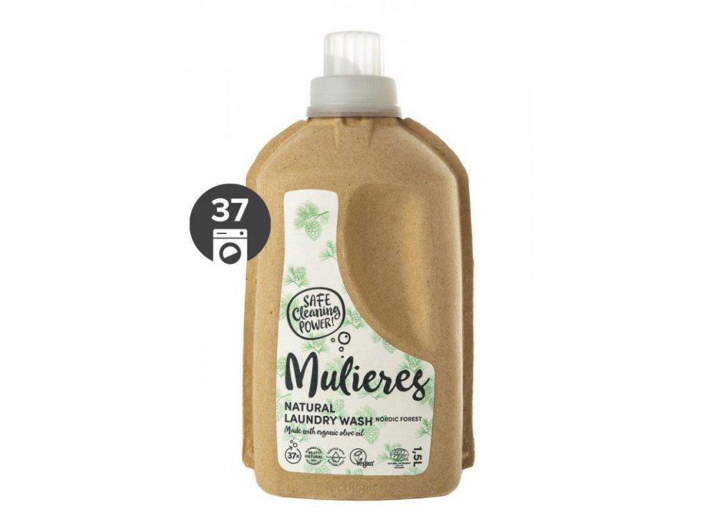 Mulieres Koncentrovaný prací gel BIO (1,5 l) | severský les