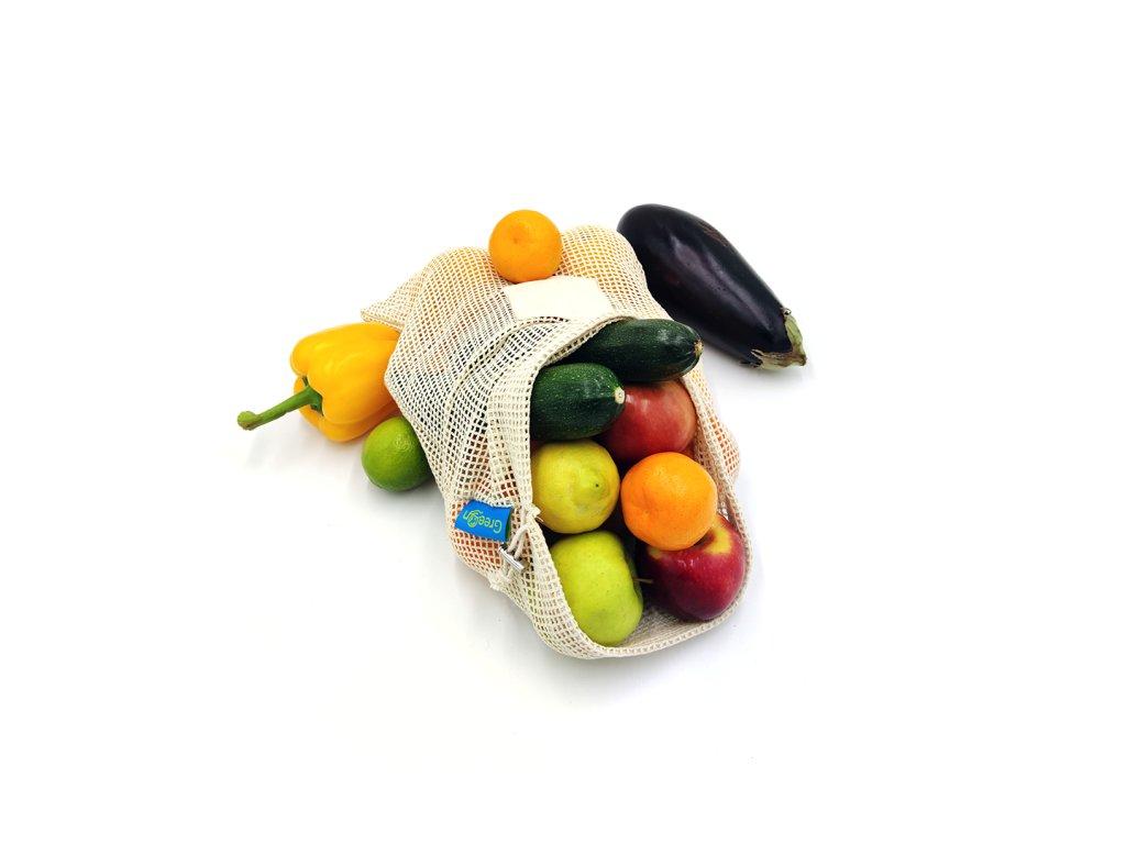 Síťovinový sáček na ovoce a zeleninu vel. L (1 ks)