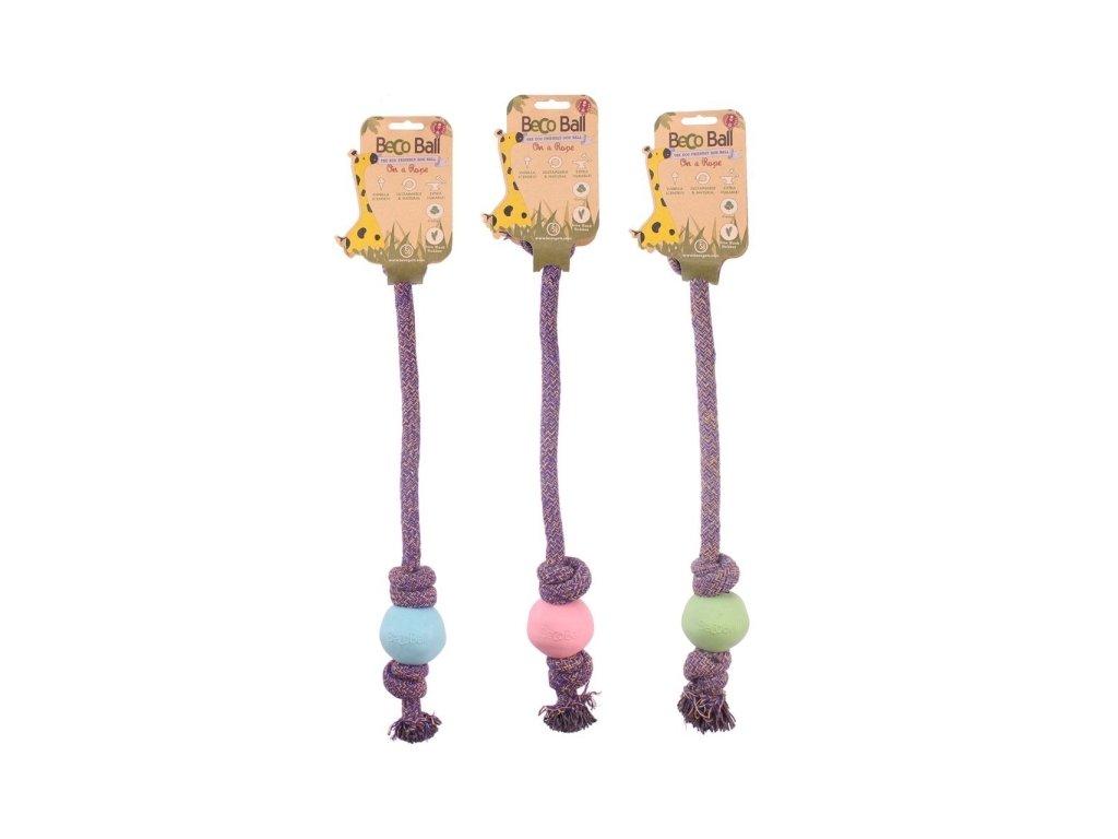 BecoBall lano - ekologická hračka pro psy - L