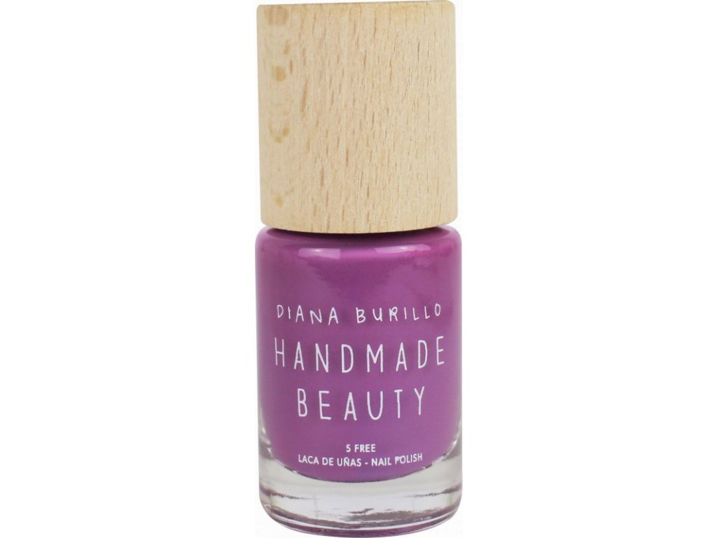 Handmade Beauty Lak na nehty 5-free (10 ml) - Plum