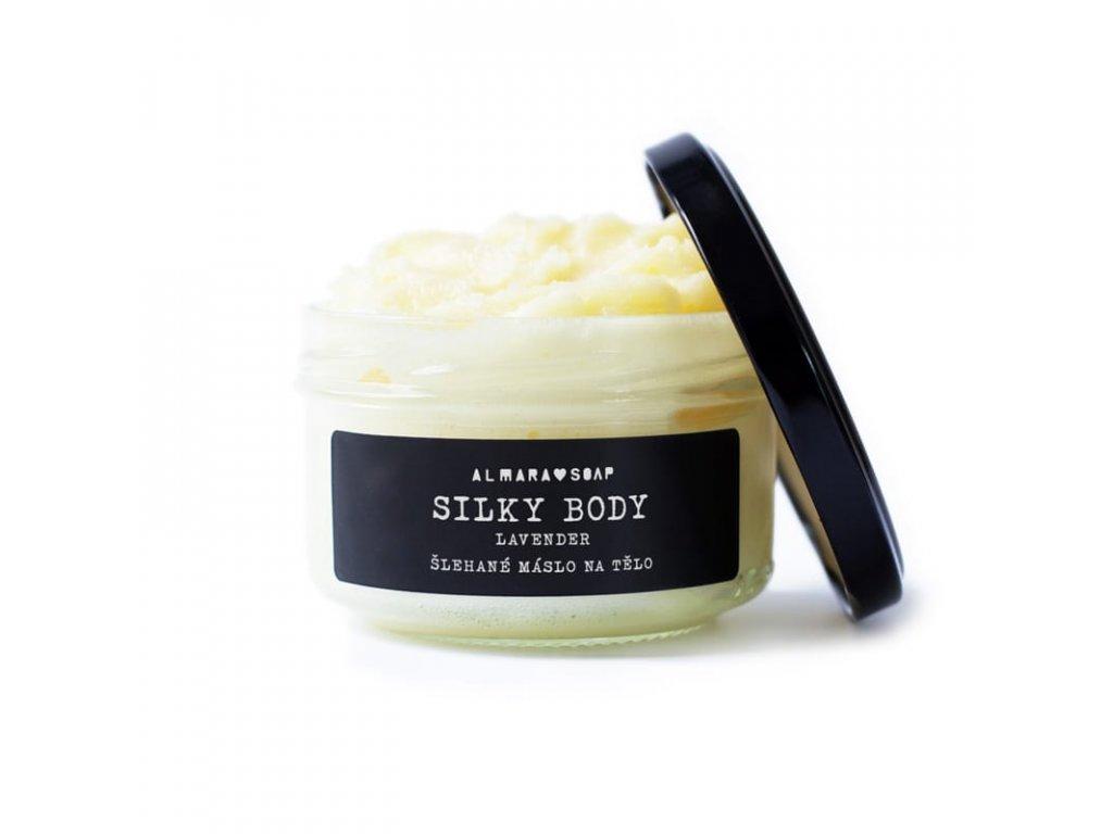 Almara Soap Šlehané máslo na tělo | Silky Body Lavender