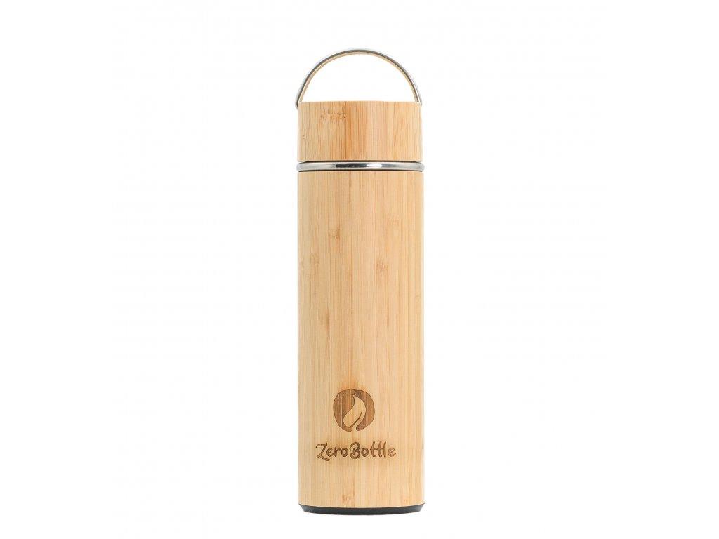 ZeroBottle - bambusová termoláhev s infuzérem| 400 ml