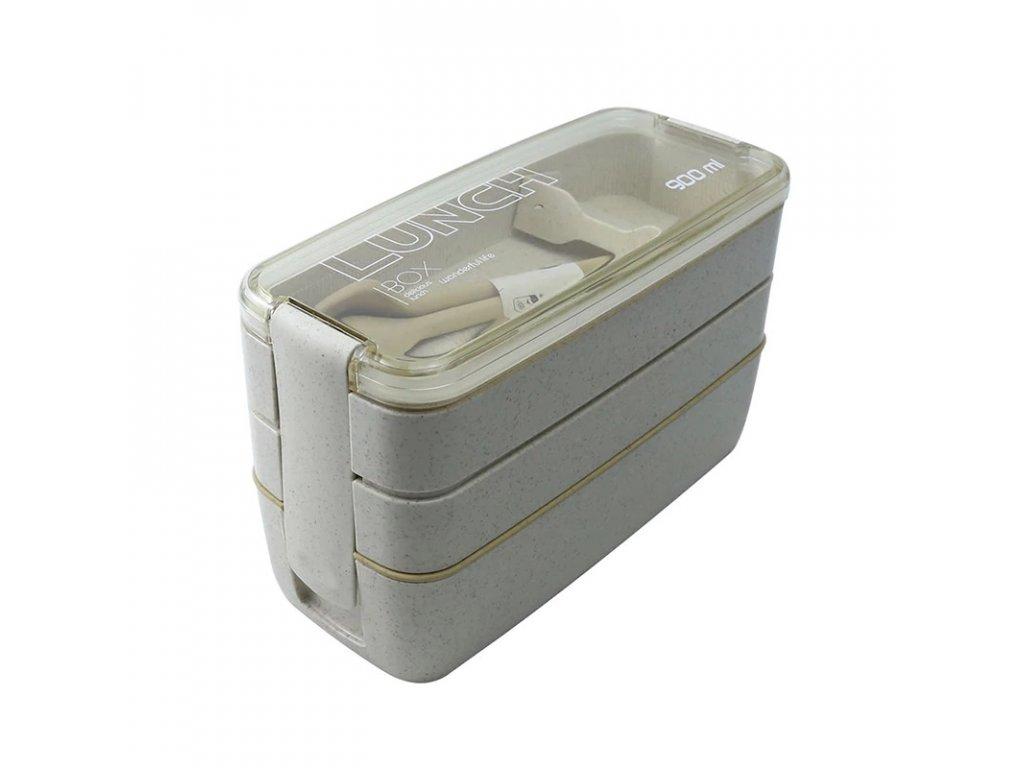 Lunch box 900 ml | béžový