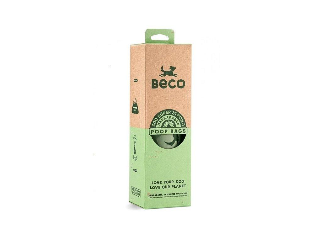 Beco Bags Ekologické sáčky na psí exkrementy 300 ks (1 role)