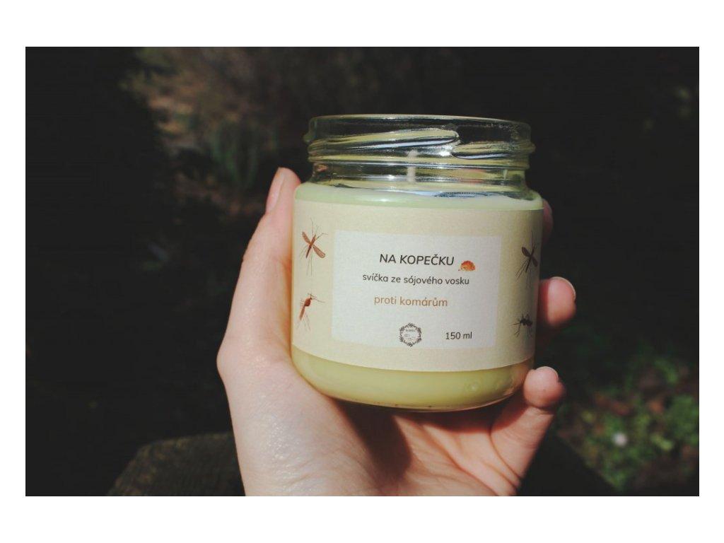 Svíčka proti komárům 150 ml