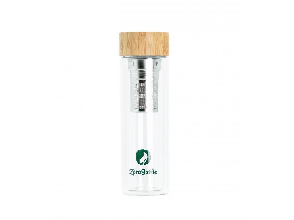 ZeroBottle - skleněná dvojitá termoláhev | 400 ml