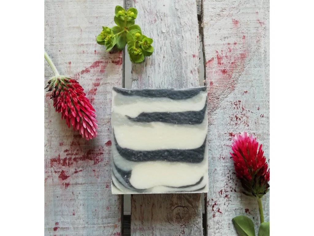 LuNatura Přírodní mýdlo Pemza peeling 120g