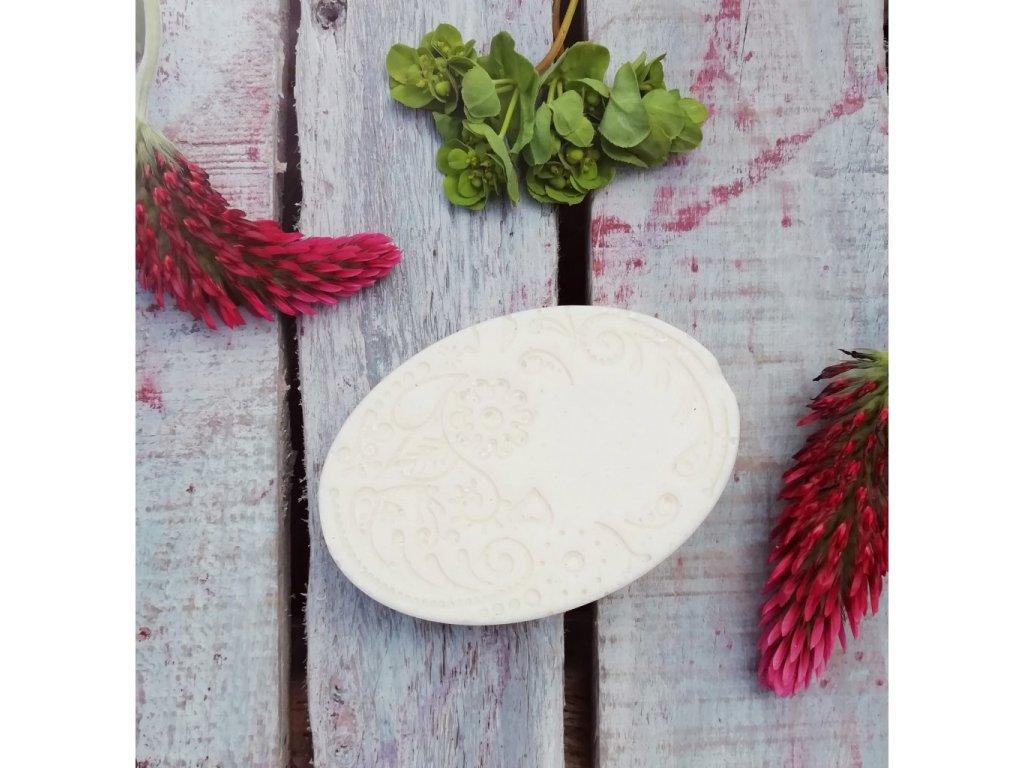 LuNatura Přírodní solné mýdlo - bílé 90g