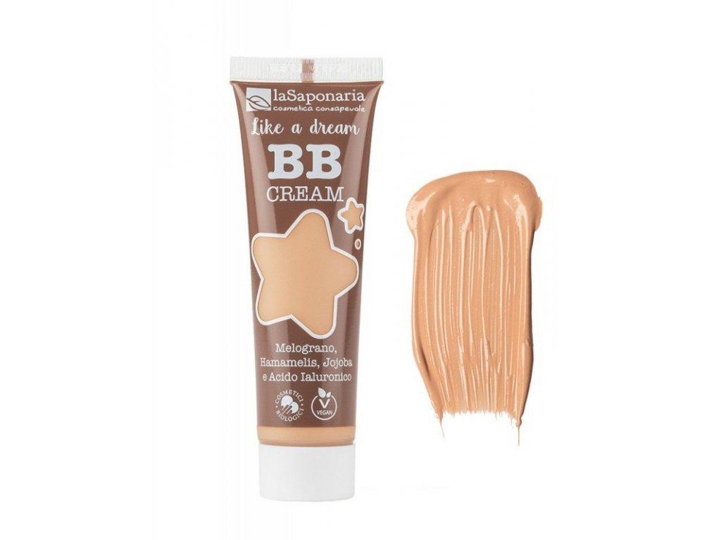 """laSaponaria BB krém """"Jako sen"""" BIO - béžový 30 ml"""