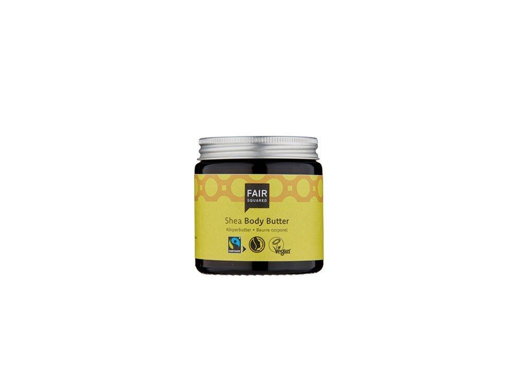 Fair Squared Vyživující bambucké máslo s olivovým olejem 100 ml