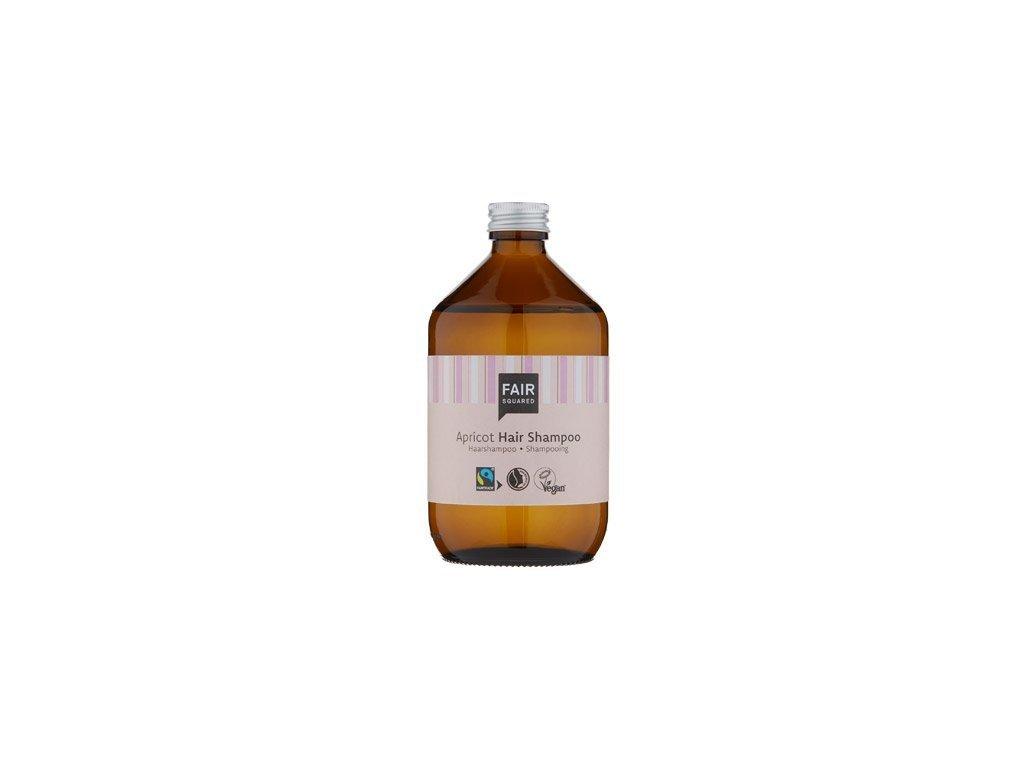 Fair Squared Šampon s meruňkou pro všechny typy vlasů 500 ml