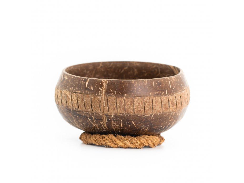 Kokosová miska Sigrid se stabilizačním kroužkem