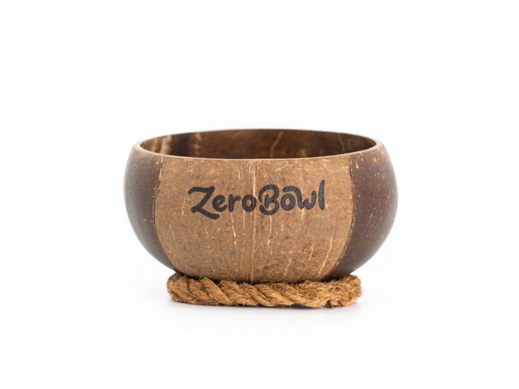 Kokosová miska ZeroBowl se stabilizačním kroužkem