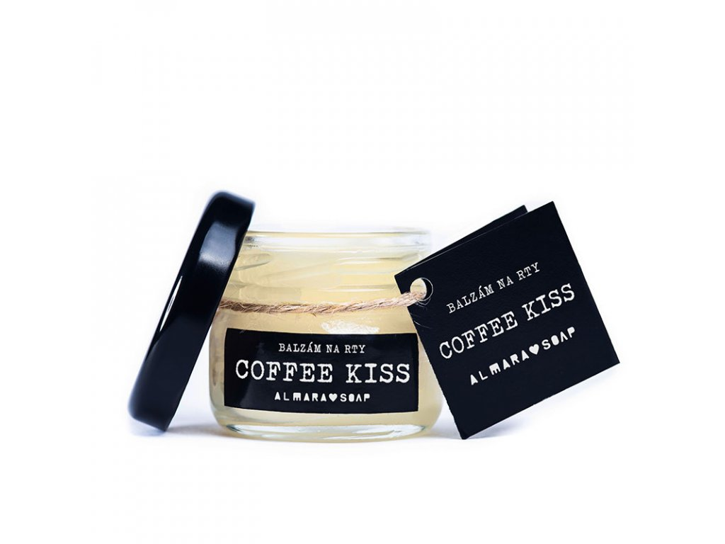 Almara Soap Balzám na rty   Coffee Kiss