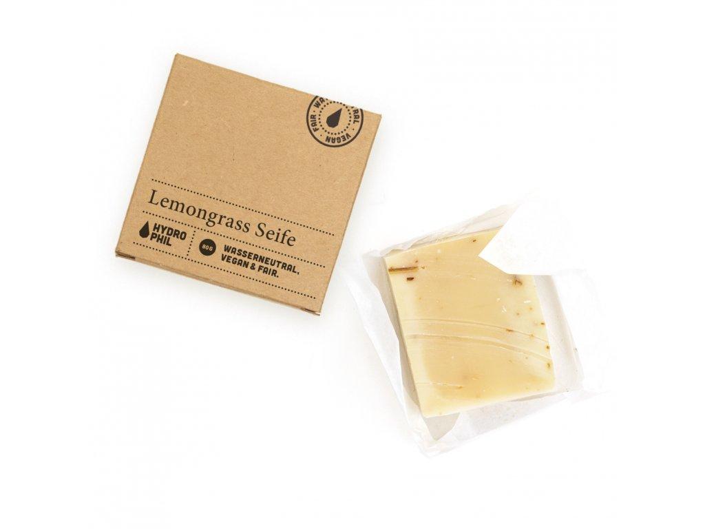 Hydrophil Tuhé mýdlo - citrónová tráva (80 g)
