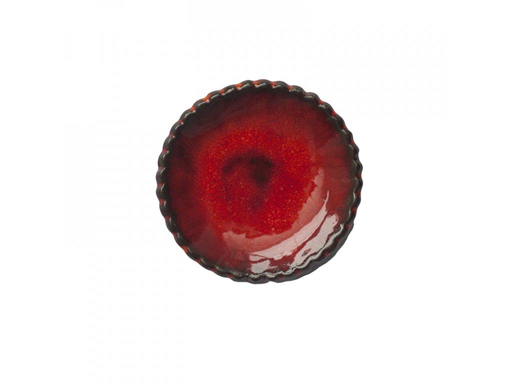 Keramická miska | červená