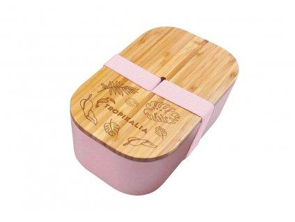 Tropikalia Lunch Box ECO | růžová