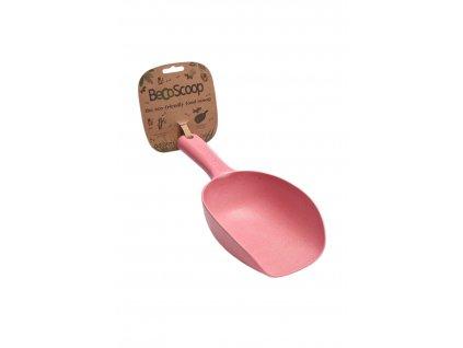 BecoScoop lopatka na krmivo pink EKO