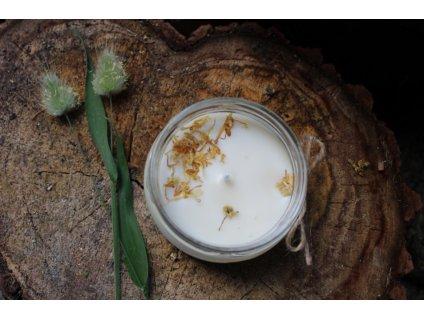 Sojová svíčka ve skle 200 ml | Vanilka