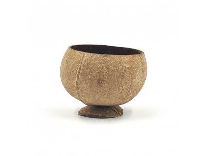 Kokosová miska s podstavcem Natural