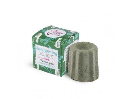 Lamazuna Tuhý šampon pro mastné vlasy | divoká tráva (55 g)
