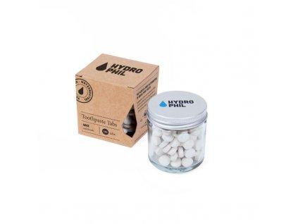 Hydrophil Šalvějová zubní pasta v tabletách - s fluorem (130 ks)