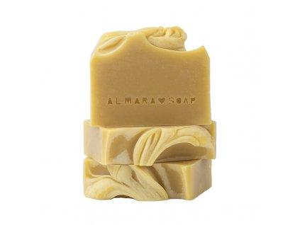 Almara Soap Creamy Carrot | přírodní tuhé mýdlo
