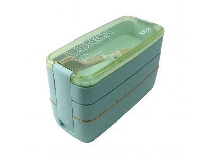 Lunch box 900 ml | zelený