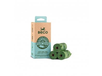 Beco Ekologické sáčky na exkrementy s peprmintovou vůní 120 ks