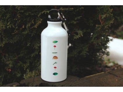Hliníková lahev na vodu 400 ml