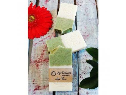 LuNatura Přírodní mýdlo Aloe Vera 130 g
