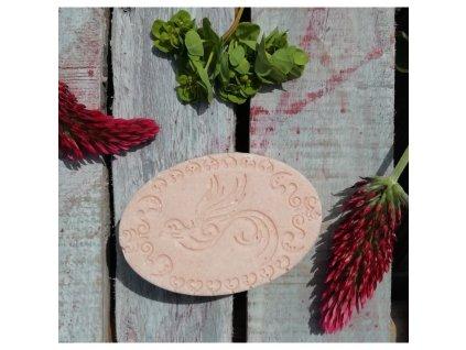 LuNatura Přírodní solné mýdlo - růžové 90g