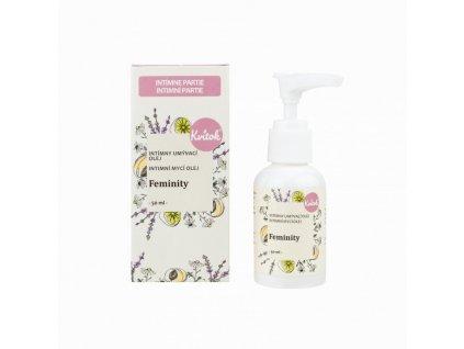 Kvitok Intimní mycí emulze Feminity 50 ml